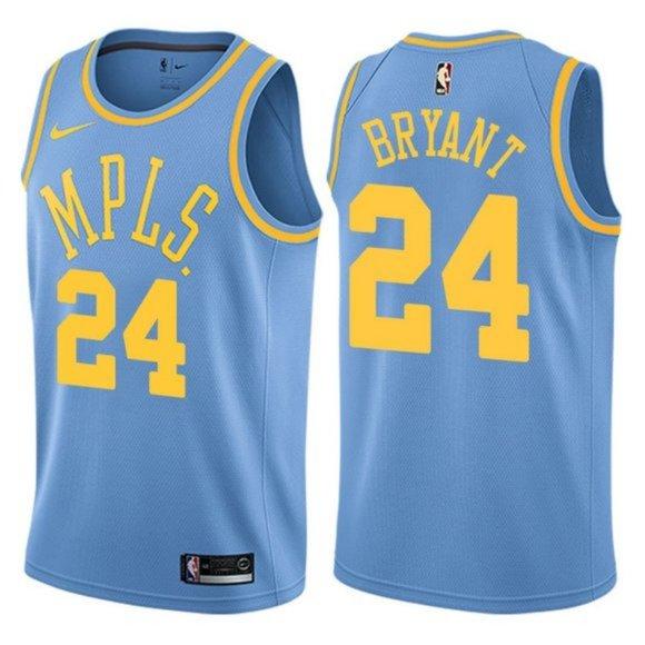 NBA Shirts   Kobe Bryant Mpls Jersey
